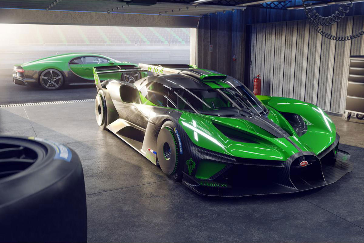Photos L'incroyable Bugatti Bolide
