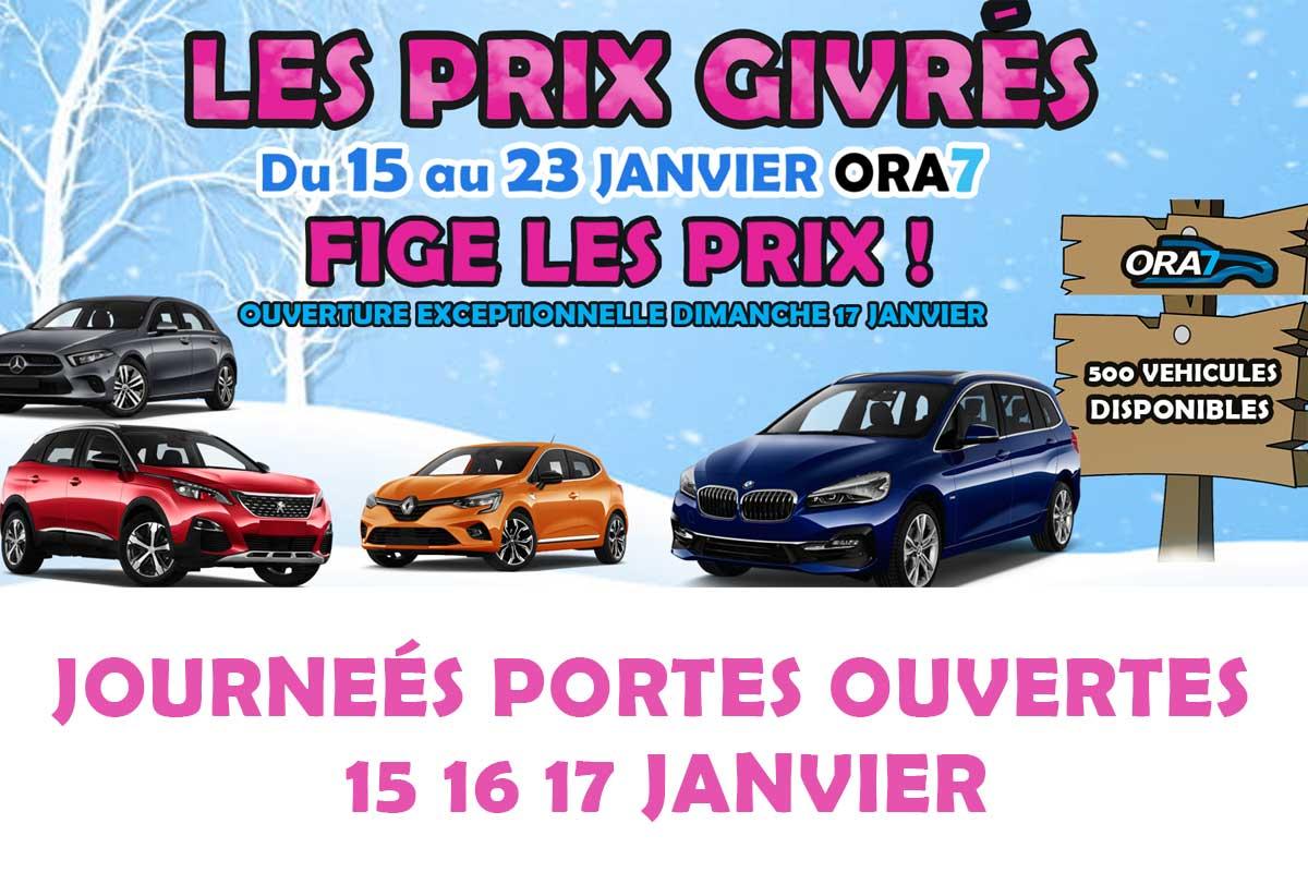 Actualité automobile DU 15 AU 23 JANVIER ORA7 FIGE LES PRIX !