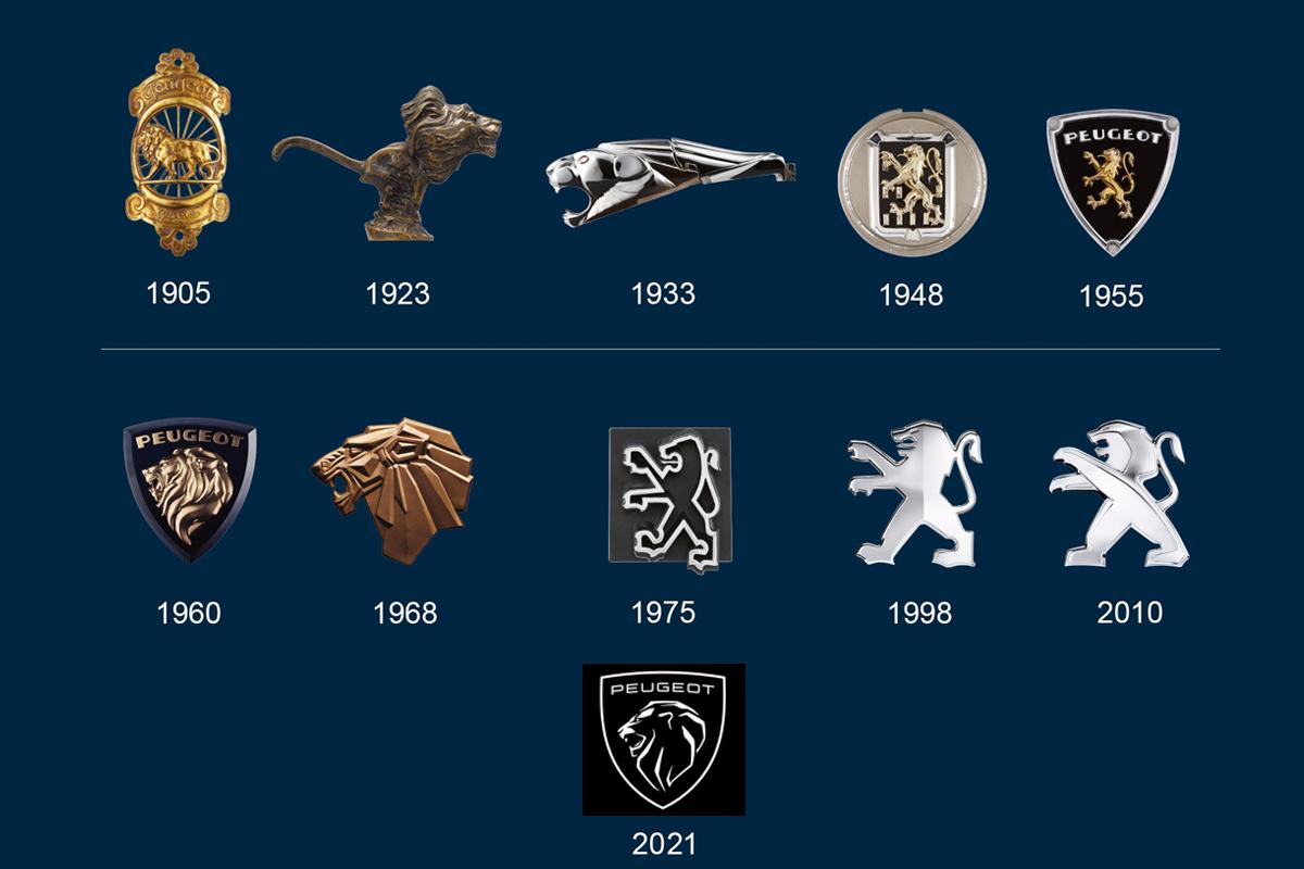 Actualité automobile Peugeot : Un logo néo-rétro pour la marque au lion