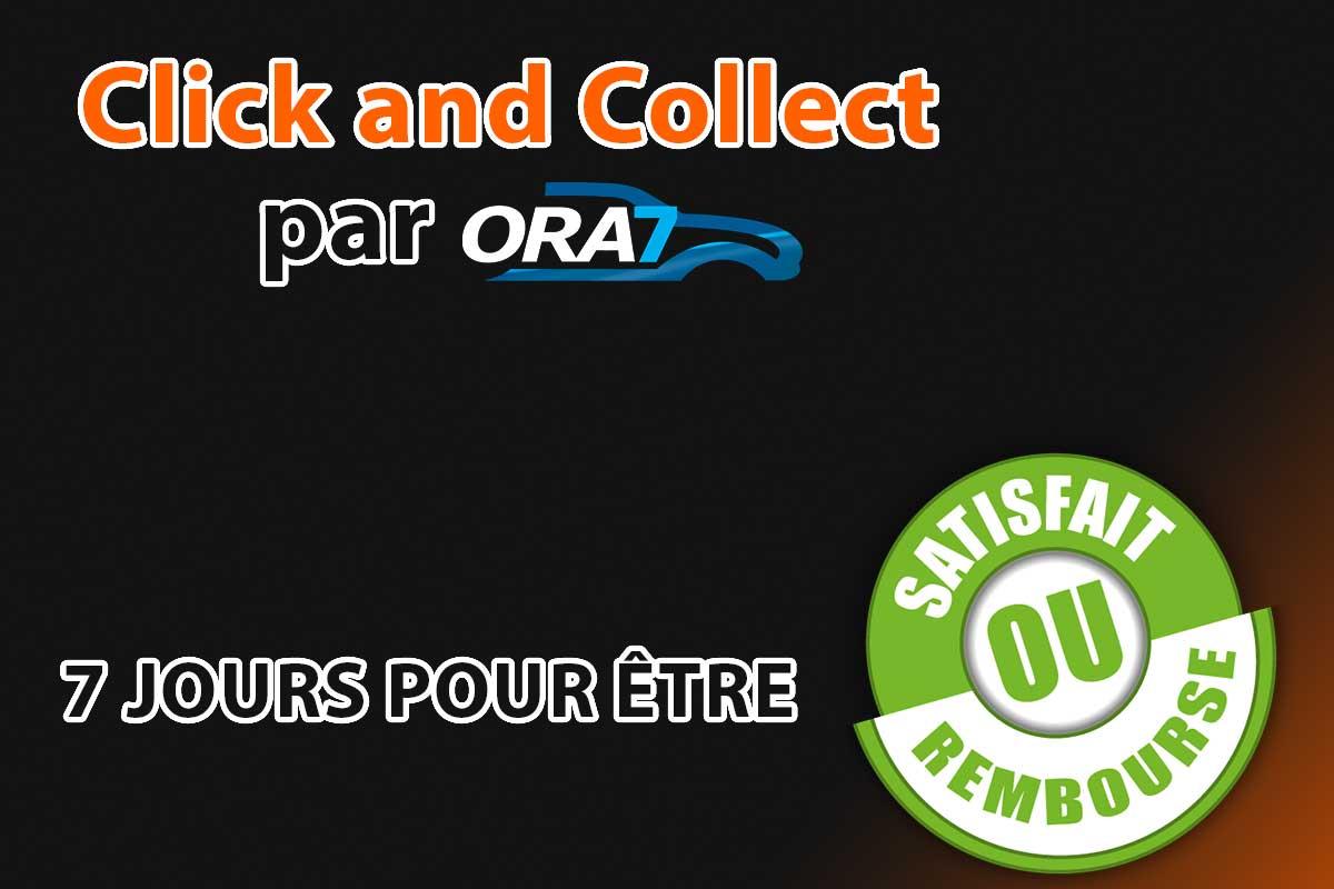 Actualité automobile CLICK AND COLLECT 7 Jours pour être satisfait ou remboursé !
