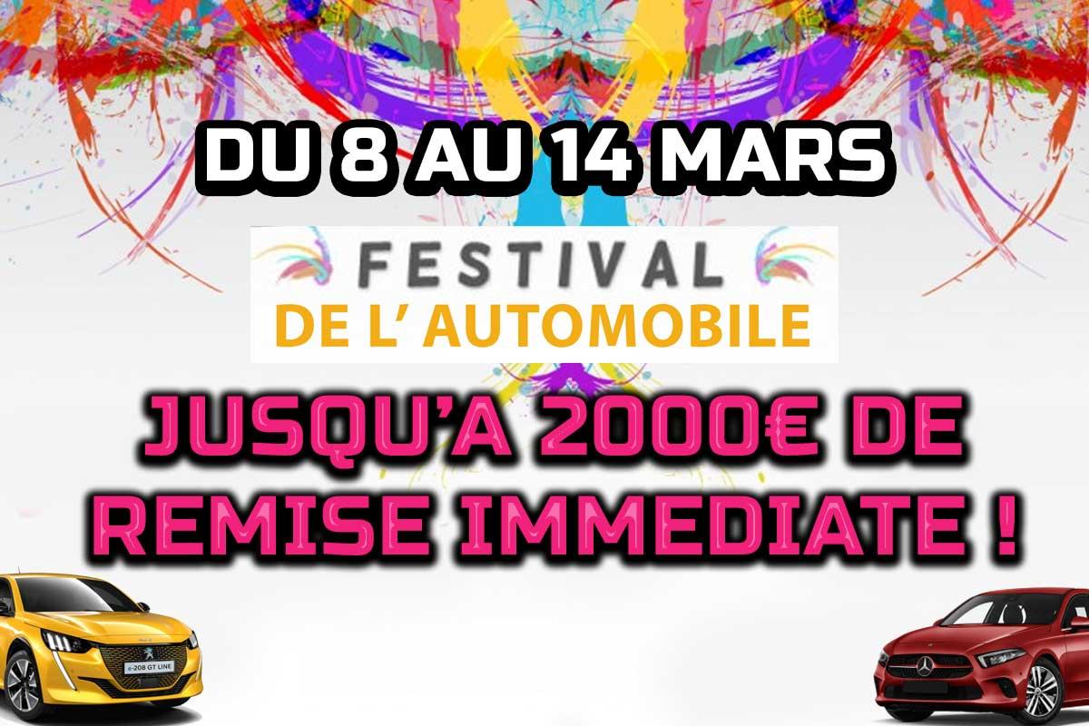 Actualité automobile Grand festival annuel de l'automobile du 8 au 14 Mars !