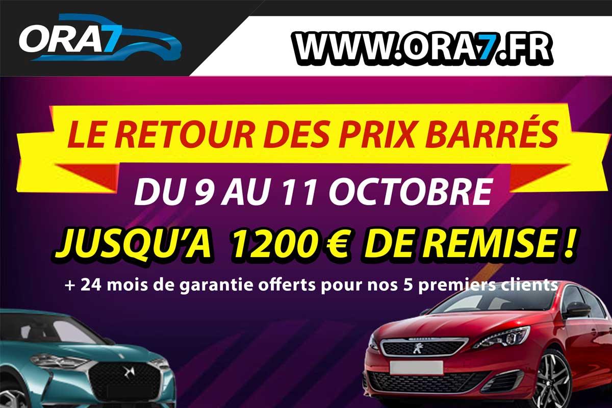 Actualité automobile Le retour des prix barrés !