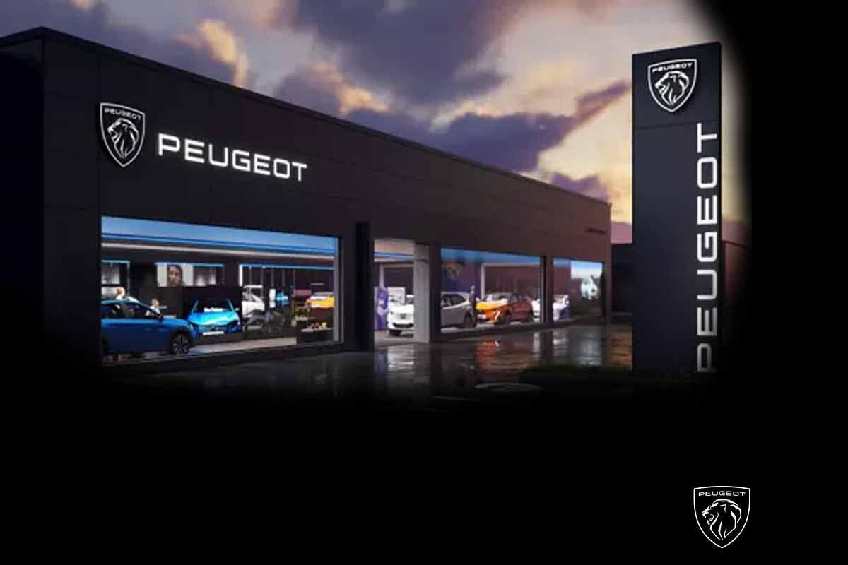 Photos Peugeot : Un logo néo-rétro pour la marque au lion
