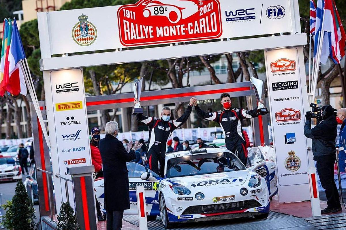 Retour en image sur le rallye de Monte-Carlo