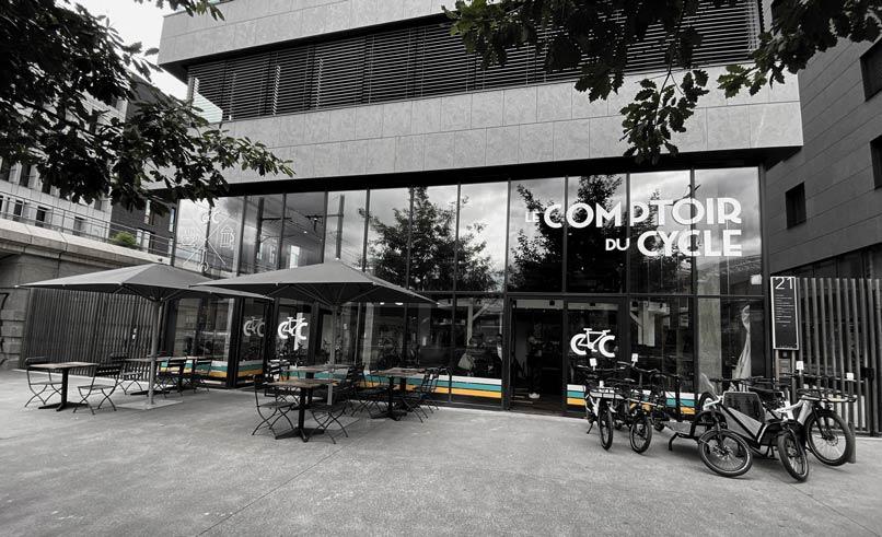 La nouvelle boutique de vélo à Lyon, Le Comptoir du Cycle