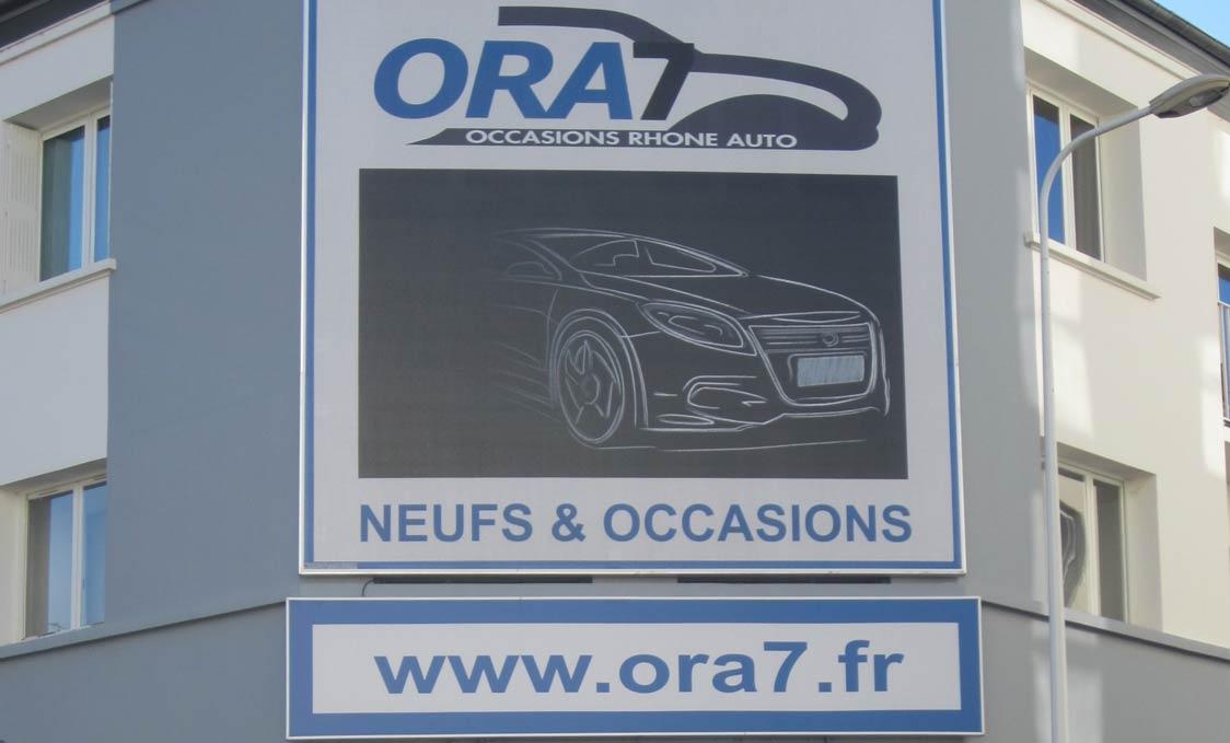 ORA7 Garage Automobile dans le centre ville de Lyon