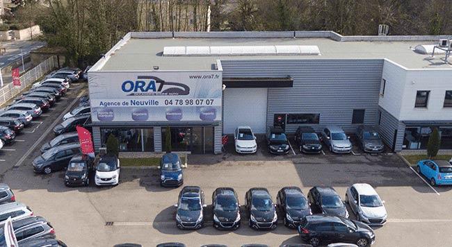 ORA7 Neuville-sur-Saône distributeur automobile Professionnels et Particuliers