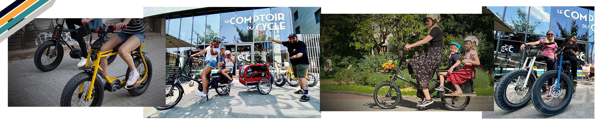 L'ensemble du stock de vélo au Comptoir du Cycle