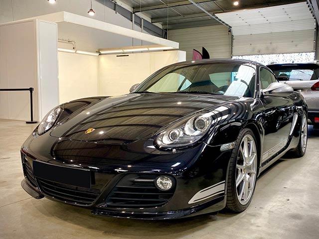 Nos véhicules Porsches présent dans le service de gardiennage