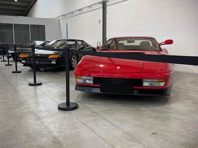 Les voitures gardées par ORA7 Classic