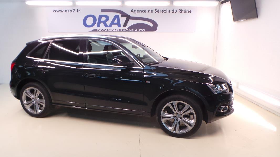 AUDI Q5 3.0 V6 TDI FAP S LINE S TRONIC d'occasion dans votre centre ORA7