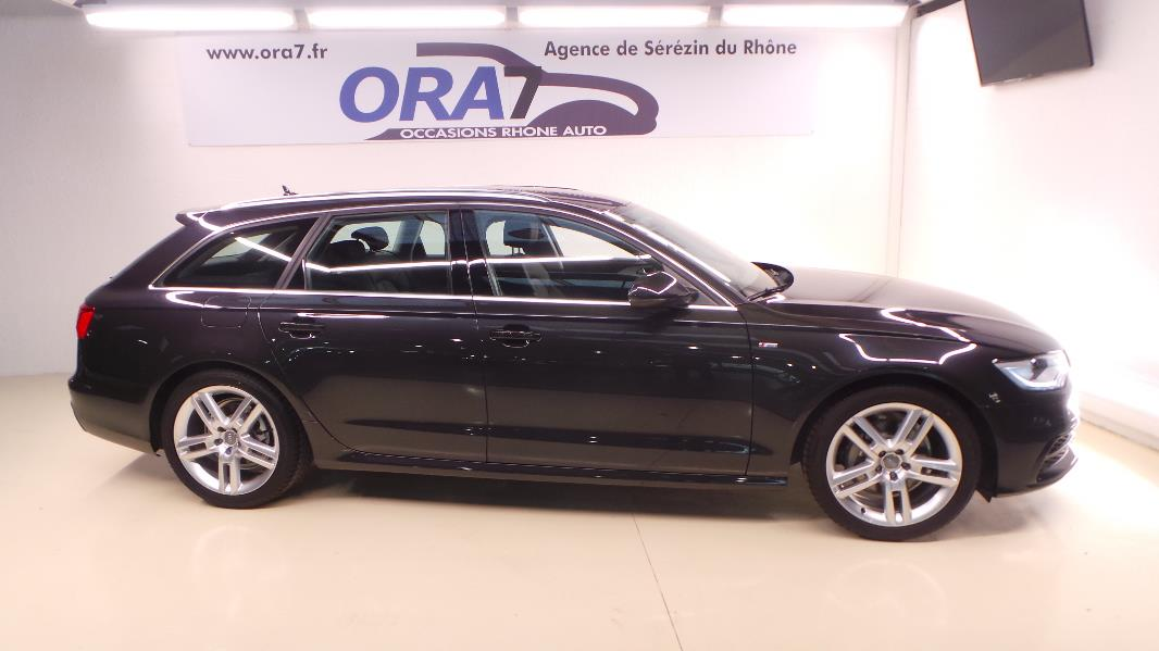 audi a6 avant 3 0 tdi 204ch s line multitronic occasion. Black Bedroom Furniture Sets. Home Design Ideas