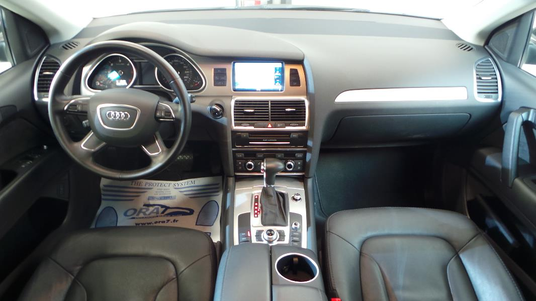 Audi q7 3 0 tdi 245ch fap ambition luxe tiptronic 7pl for Interieur q7