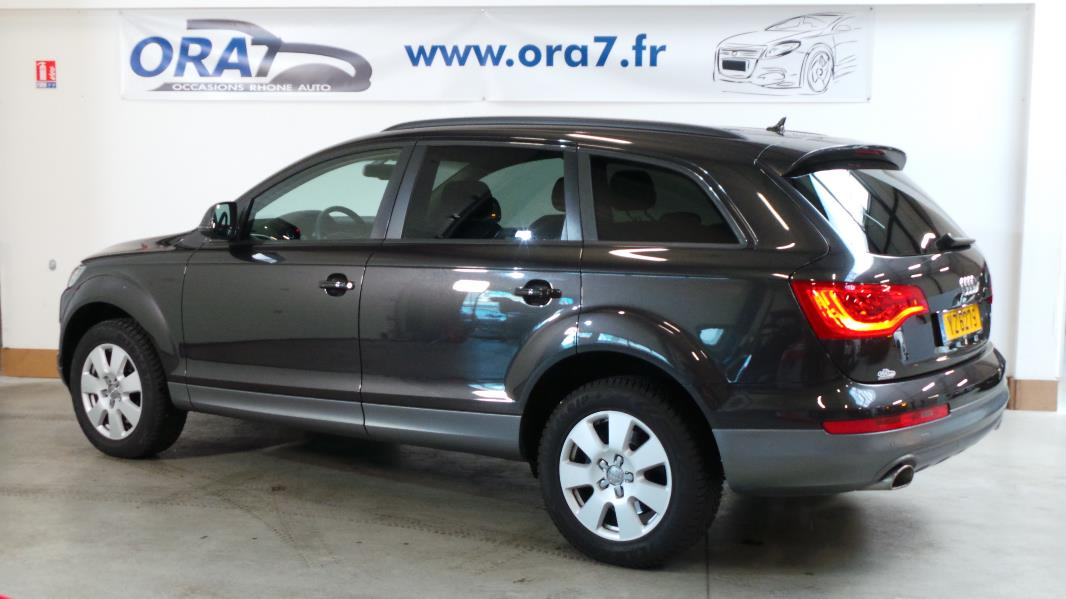 audi q7 3 0 tdi 245ch fap ambition luxe tiptronic 7pl occasion lyon neuville sur sa ne rh ne. Black Bedroom Furniture Sets. Home Design Ideas