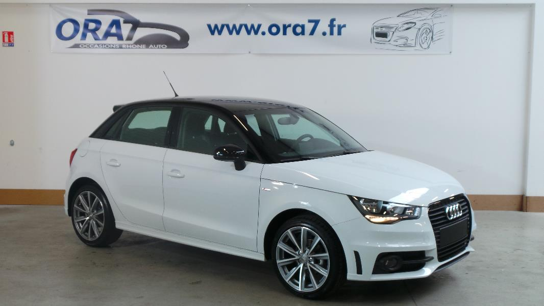 audi a1 sportback 1 6 tdi 90ch fap s line occasion lyon. Black Bedroom Furniture Sets. Home Design Ideas