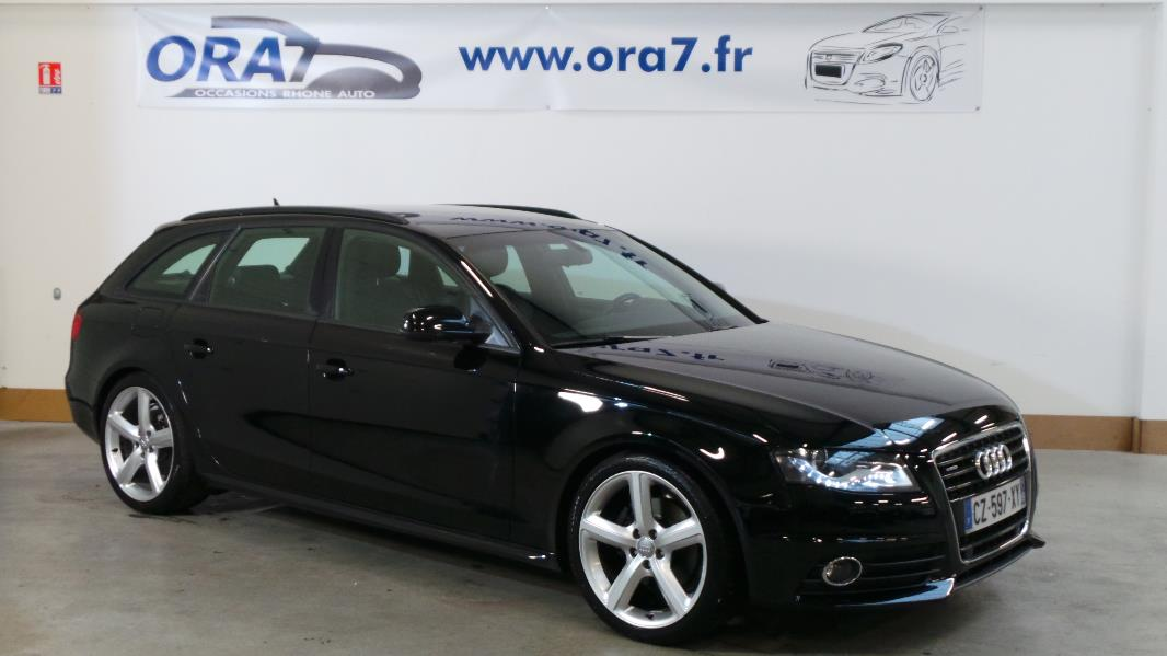 audi a4 avant 2 0 tdi170 dpf s line plus quattro occasion lyon neuville sur sa ne rh ne ora7. Black Bedroom Furniture Sets. Home Design Ideas