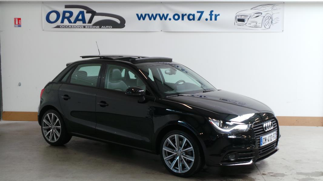 audi a1 sportback 1 6 tdi 105ch fap s line occasion lyon neuville sur sa ne rh ne ora7. Black Bedroom Furniture Sets. Home Design Ideas
