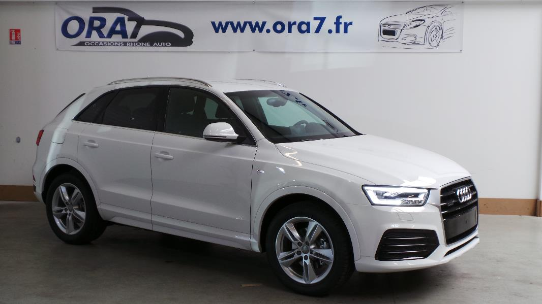 audi q3 2 0 tdi 184 s line quattro s tronic occasion. Black Bedroom Furniture Sets. Home Design Ideas