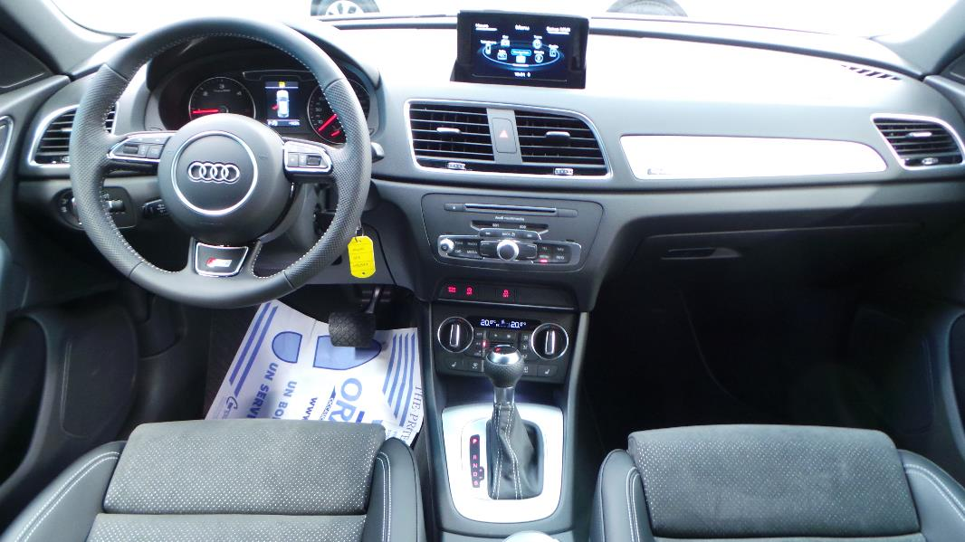 Audi q3 2 0 tdi 184 s line quattro s tronic occasion for Audi q3 photos interieur