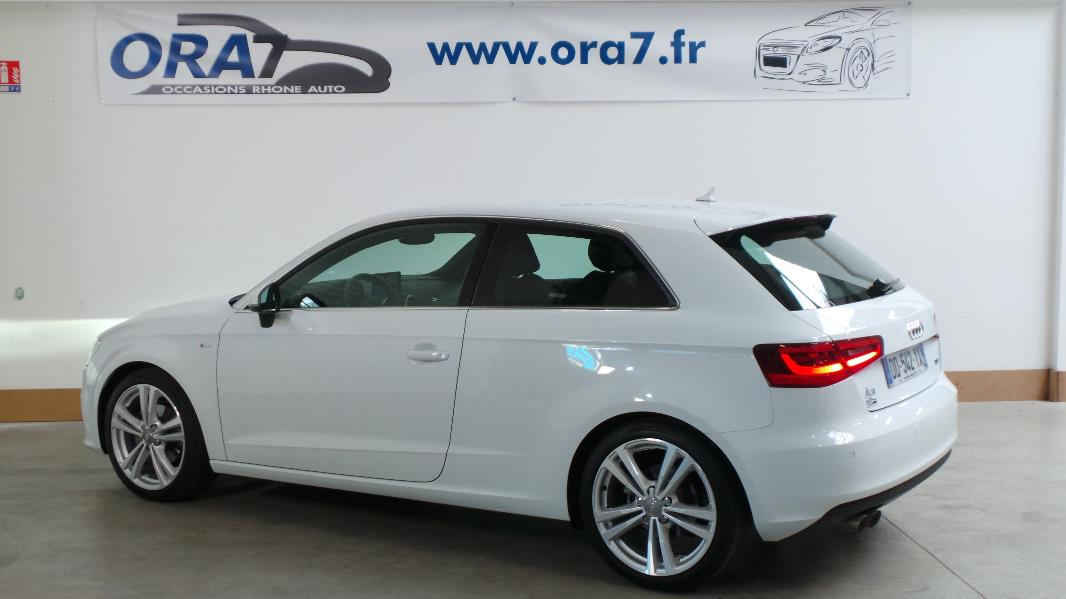 audi a3 2 0 tdi 150ch fap s line occasion lyon neuville. Black Bedroom Furniture Sets. Home Design Ideas