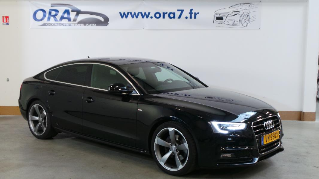 audi a5 sportback 3 0 v6 tdi 204ch s line multitronic occasion lyon neuville sur sa ne rh ne. Black Bedroom Furniture Sets. Home Design Ideas