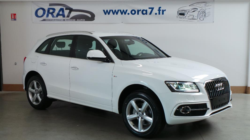 audi q5 2 0 tdi 190 clean diesel s line quattro s tronic7 occasion lyon neuville sur sa ne. Black Bedroom Furniture Sets. Home Design Ideas