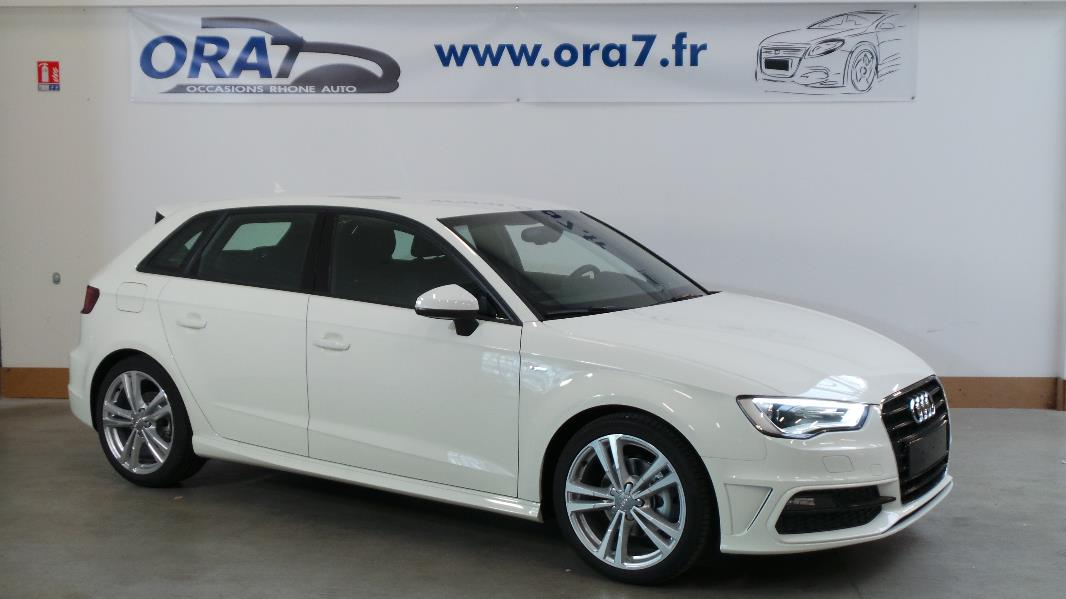 audi a3 sportback 2 0 tdi 150ch fap s line occasion lyon. Black Bedroom Furniture Sets. Home Design Ideas