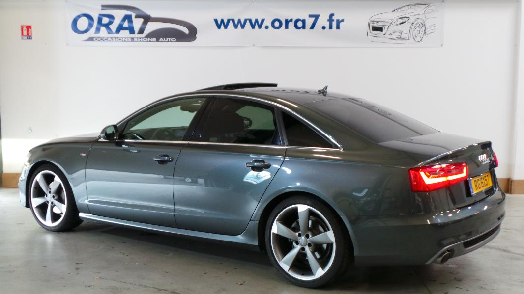 audi a6 3 0 tdi 204ch s line multitronic occasion lyon neuville sur sa ne rh ne ora7. Black Bedroom Furniture Sets. Home Design Ideas