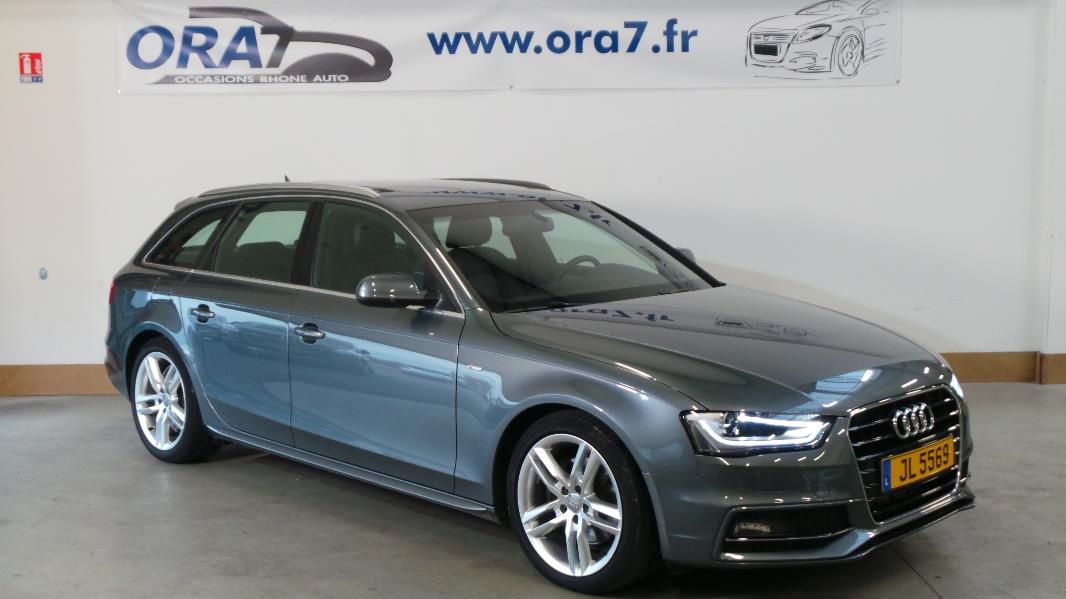 audi a4 avant 2 0 tdi150 dpf s line occasion lyon. Black Bedroom Furniture Sets. Home Design Ideas