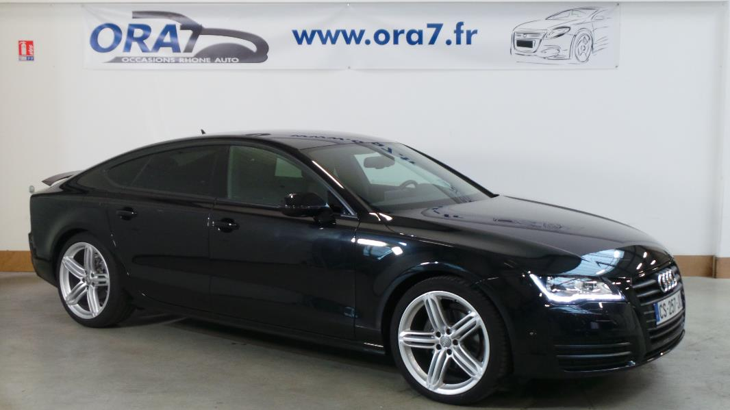 audi a7 sportback 3 0 tdi 204 s line multitronic8 occasion lyon neuville sur sa ne rh ne ora7. Black Bedroom Furniture Sets. Home Design Ideas