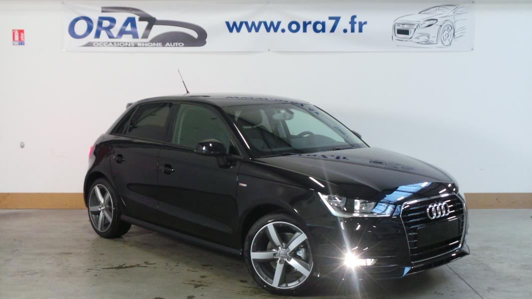 audi a1 sportback 1 6 tdi 116 s line occasion lyon. Black Bedroom Furniture Sets. Home Design Ideas