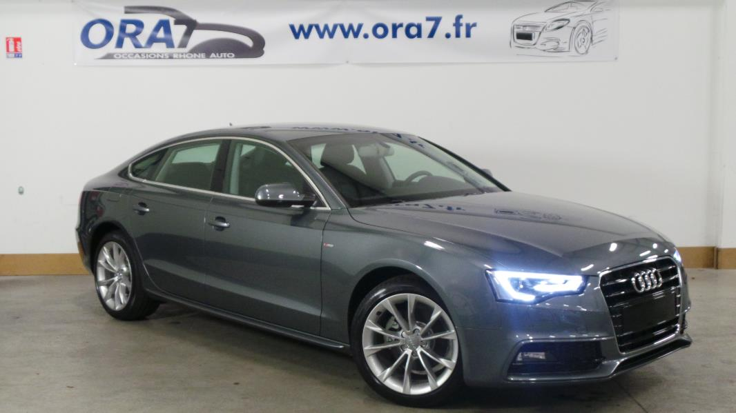audi a5 sportback 2 0 tdi 190 clean diesel euro6 ambition luxe multi occasion lyon neuville. Black Bedroom Furniture Sets. Home Design Ideas