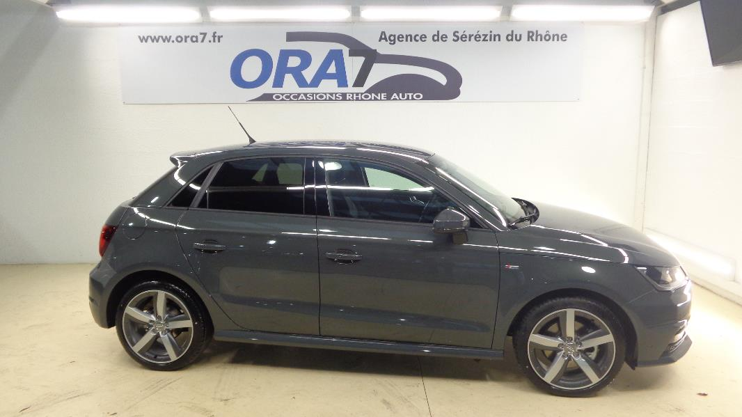 audi a1 sportback 1 6 tdi 116 s line occasion lyon s r zin rh ne ora7. Black Bedroom Furniture Sets. Home Design Ideas