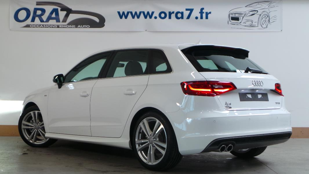 audi a3 sportback 1 4 tfsi 125 s line occasion lyon neuville sur sa ne rh ne ora7. Black Bedroom Furniture Sets. Home Design Ideas