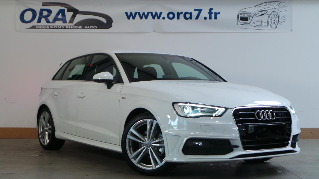 audi a3 sportback 1 4 tfsi 125 s line occasion lyon. Black Bedroom Furniture Sets. Home Design Ideas