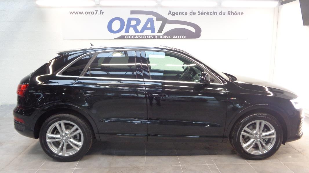 audi q3 2 0 tdi 150 s line quattro s tronic occasion lyon s r zin rh ne ora7. Black Bedroom Furniture Sets. Home Design Ideas