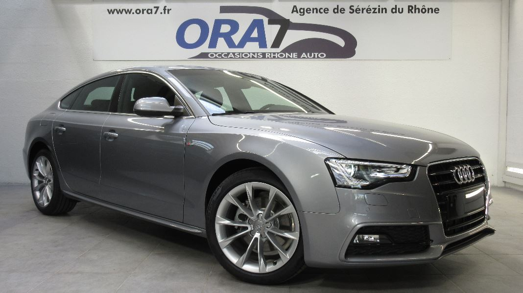 audi a5 sportback 2 0 tdi 150ch clean diesel eu6 ambition luxe occasion lyon s r zin rh ne. Black Bedroom Furniture Sets. Home Design Ideas