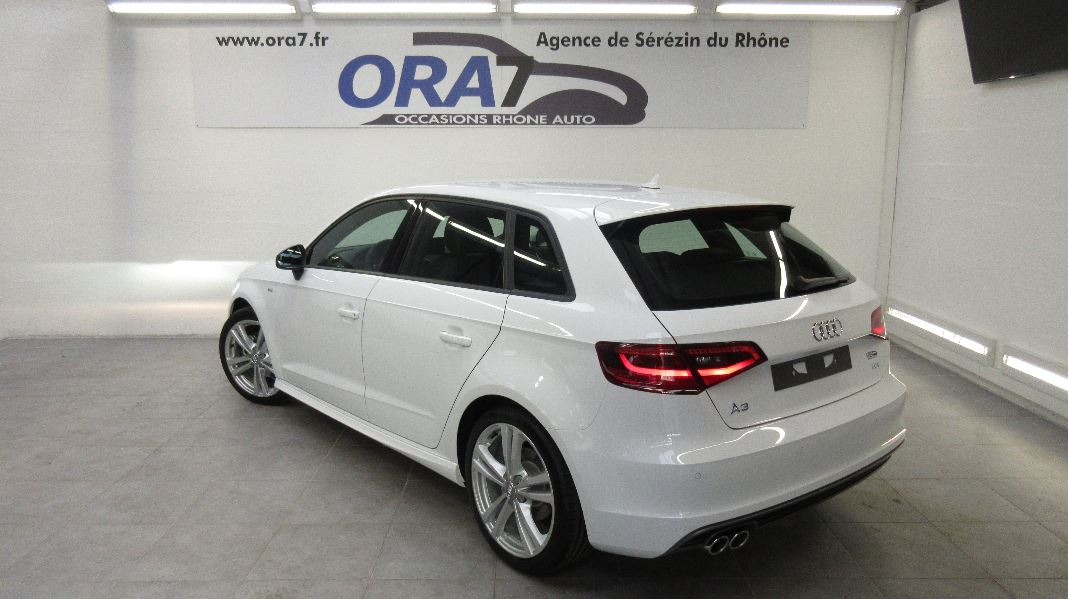 audi a3 sportback 2 0 tdi 150 fap s line occasion lyon s r zin rh ne ora7. Black Bedroom Furniture Sets. Home Design Ideas