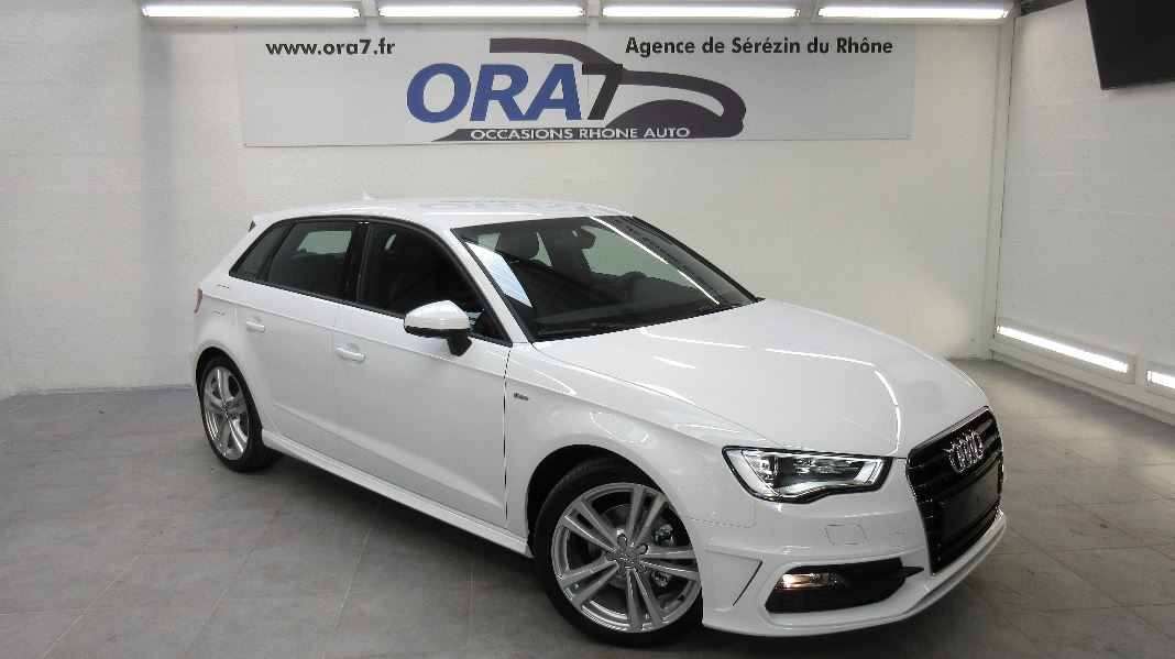 audi a3 sportback 2 0 tdi 150 fap s line occasion lyon. Black Bedroom Furniture Sets. Home Design Ideas
