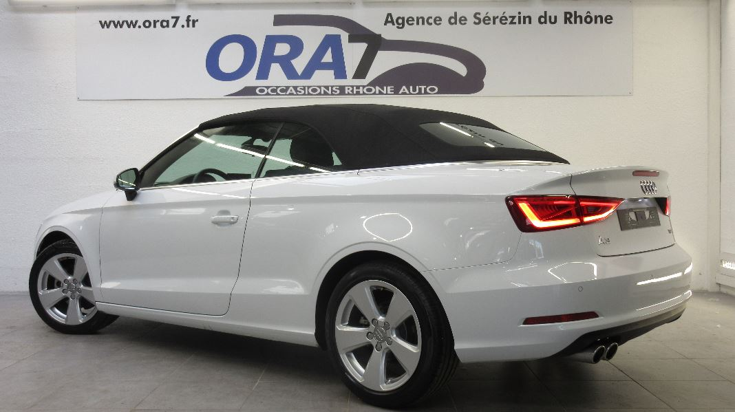 audi a3 cabriolet 2 0 tdi 150ch ambition s tronic 6. Black Bedroom Furniture Sets. Home Design Ideas