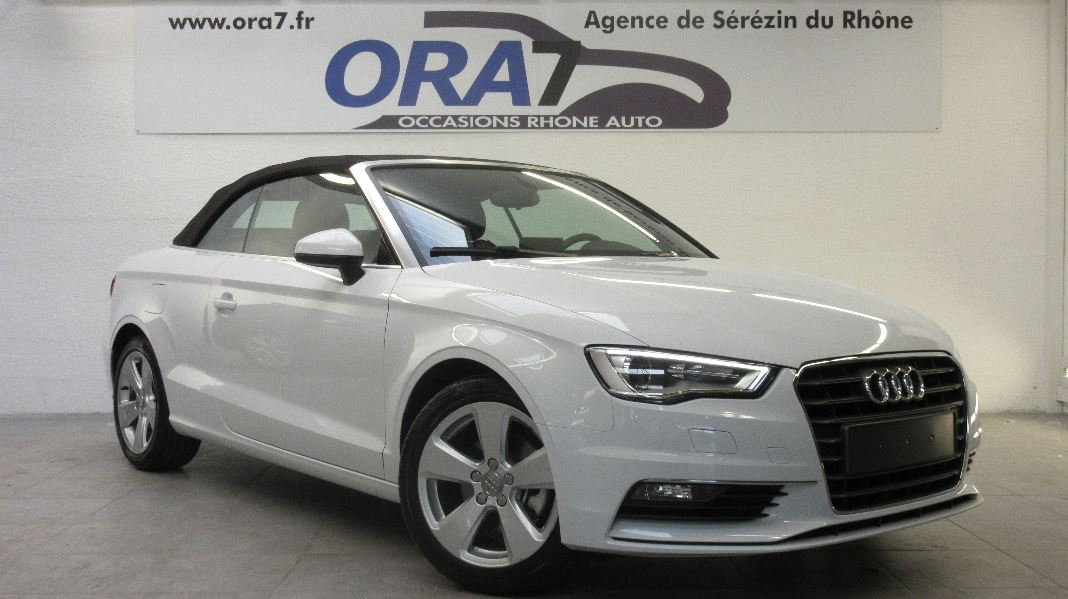 audi a3 cabriolet 2 0 tdi 150ch ambition s tronic 6 occasion lyon s r zin rh ne ora7. Black Bedroom Furniture Sets. Home Design Ideas