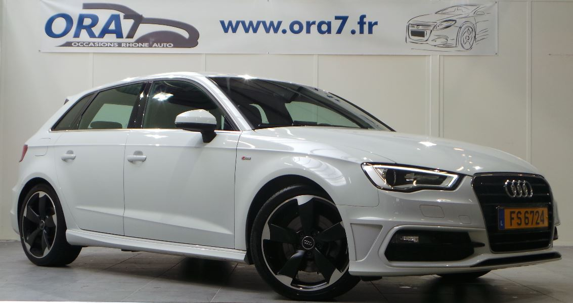 audi a3 sportback 1 8 tfsi 180ch s line s tronic 7 occasion lyon neuville sur sa ne rh ne ora7. Black Bedroom Furniture Sets. Home Design Ideas