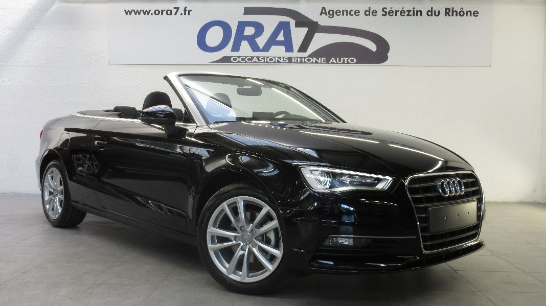 audi a3 cabriolet 1 4 tfsi 150ch ultra cod ambition s tronic 7 occasion lyon s r zin rh ne. Black Bedroom Furniture Sets. Home Design Ideas