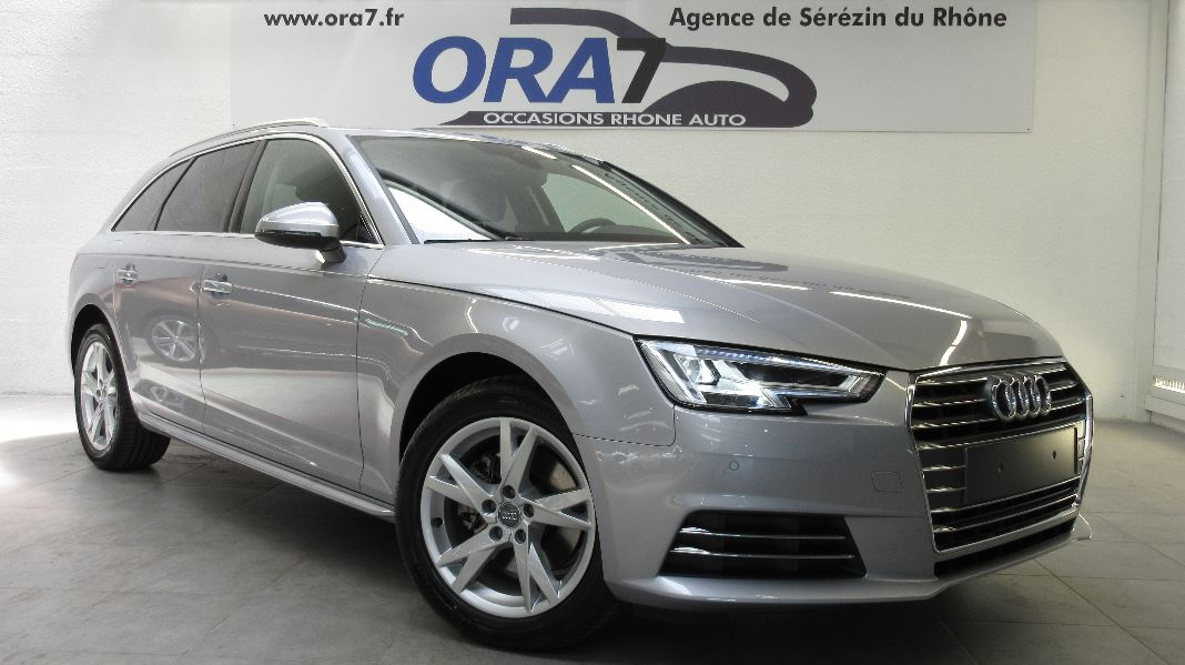 audi a4 avant 2 0 tdi 150ch s line s tronic 7 occasion. Black Bedroom Furniture Sets. Home Design Ideas