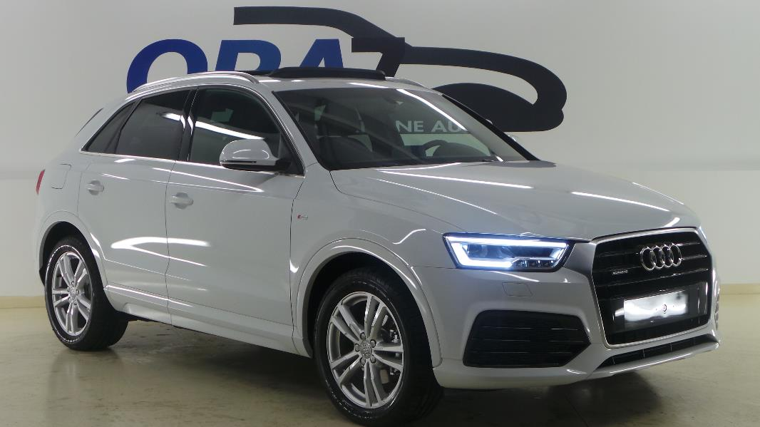 audi q3 2 0 tdi 150 s line quattro s tronic occasion. Black Bedroom Furniture Sets. Home Design Ideas