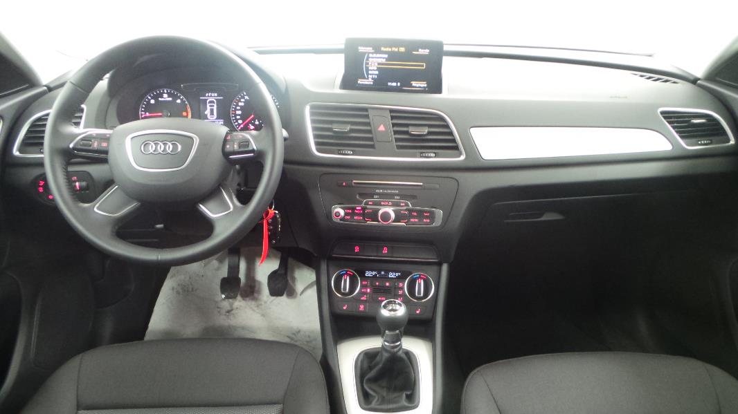 Audi q3 2 0 tdi 150 ultra ambiente occasion mont limar for Audi q3 photos interieur