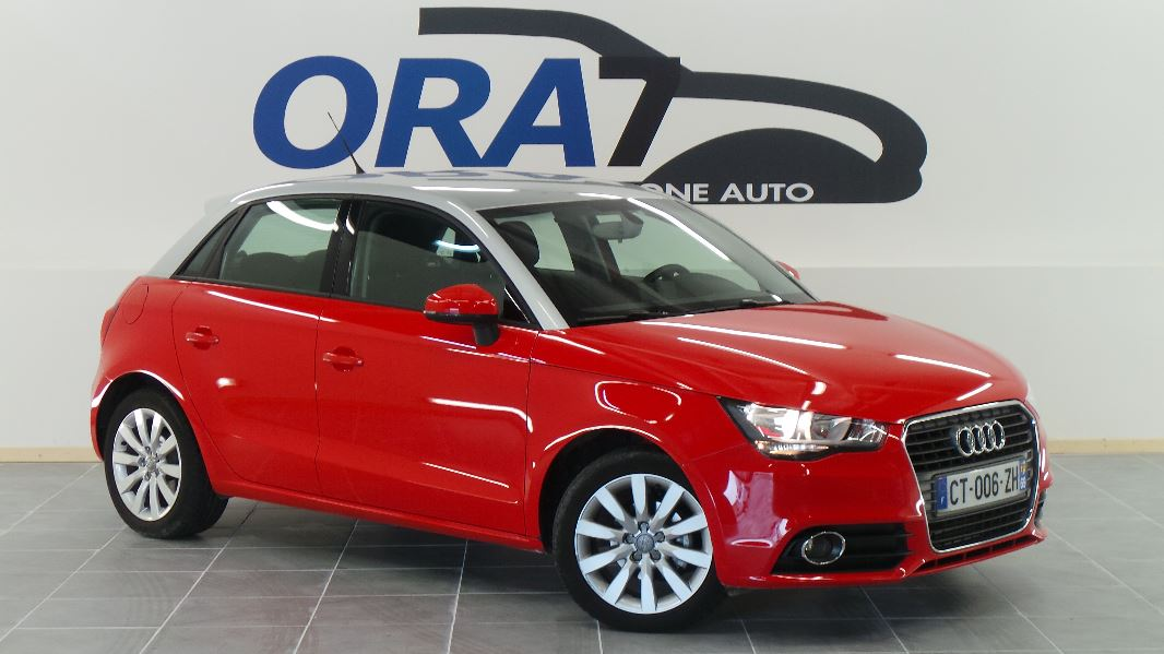 audi a1 sportback 1 6 tdi 90ch fap ambition occasion. Black Bedroom Furniture Sets. Home Design Ideas