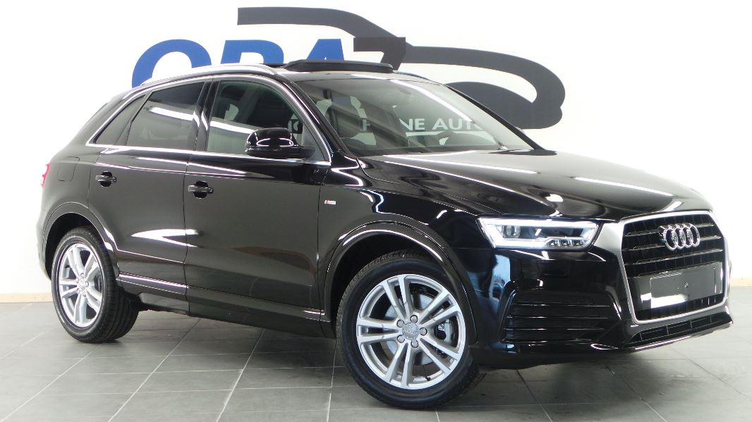 audi q3 2 0 tdi 150 ultra s line occasion mont limar drome ard che ora7. Black Bedroom Furniture Sets. Home Design Ideas