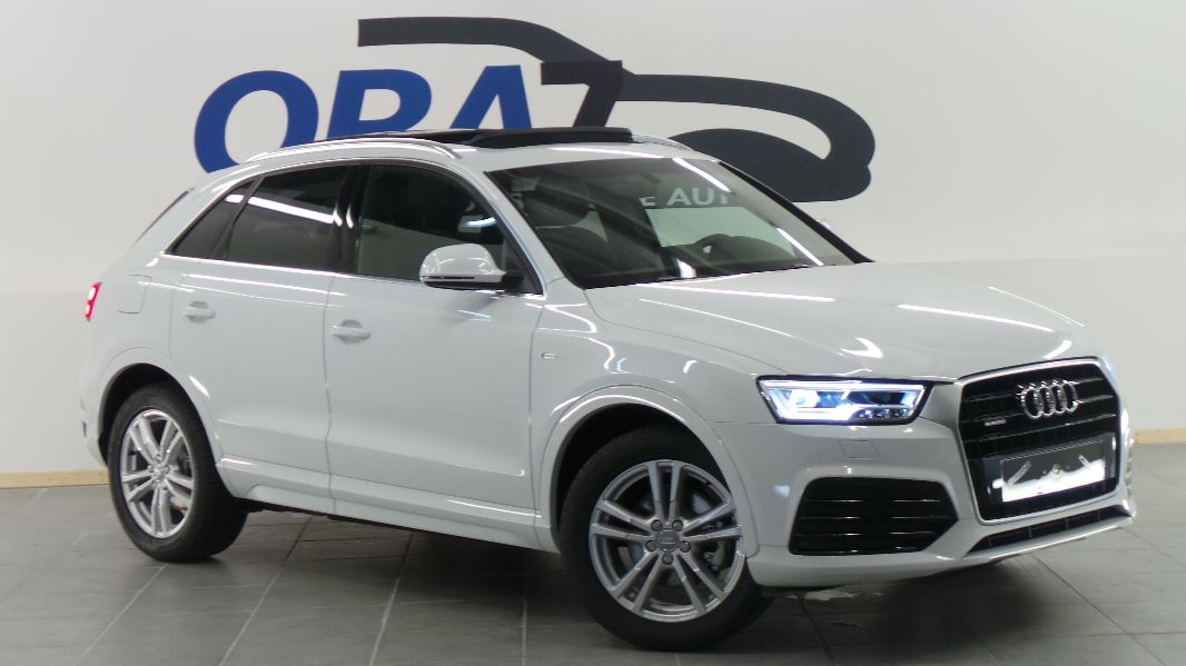 audi q3 2 0 tdi 150 s line quattro s tronic 7 occasion mont limar drome ard che ora7. Black Bedroom Furniture Sets. Home Design Ideas