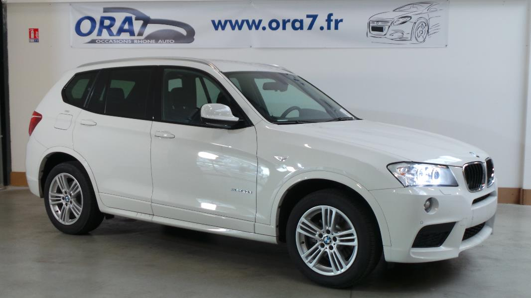 BMW X3 (F25) XDRIVE20DA 184CH SPORT DESIGN d'occasion dans votre centre ORA7